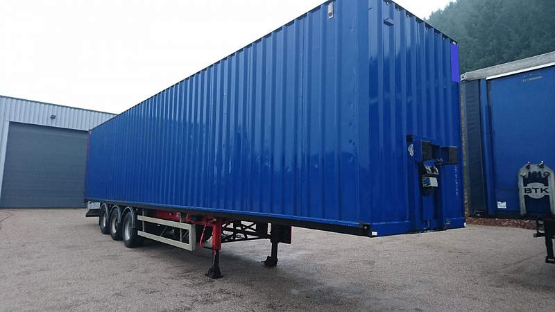 SEMI REMORQUE CONTAINER GENERAL TRAILERS 34T OCCASION