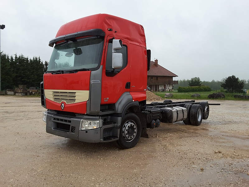 PORTEUR CHASSIS RENAULT PREMIUM 450 DXI OCCASION
