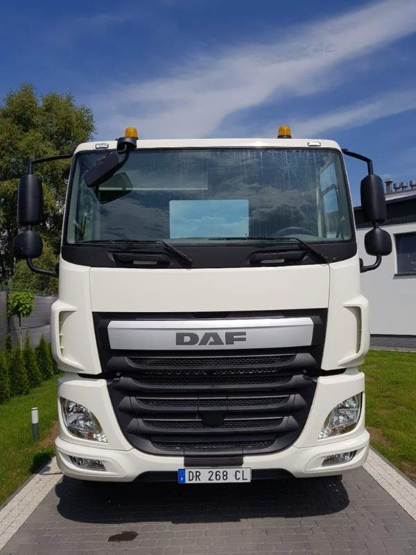 PORTEUR CHASSIS 6X2 DAF CF 460 FAS OCCASION