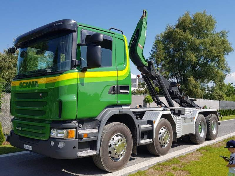 PORTEUR AMPLIROLL SCANIA G440 8X4 OCCASION