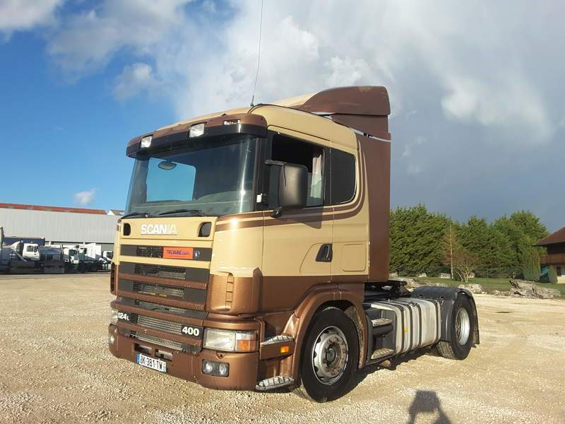 TRACTEUR SCANIA 124L400 OCCASION