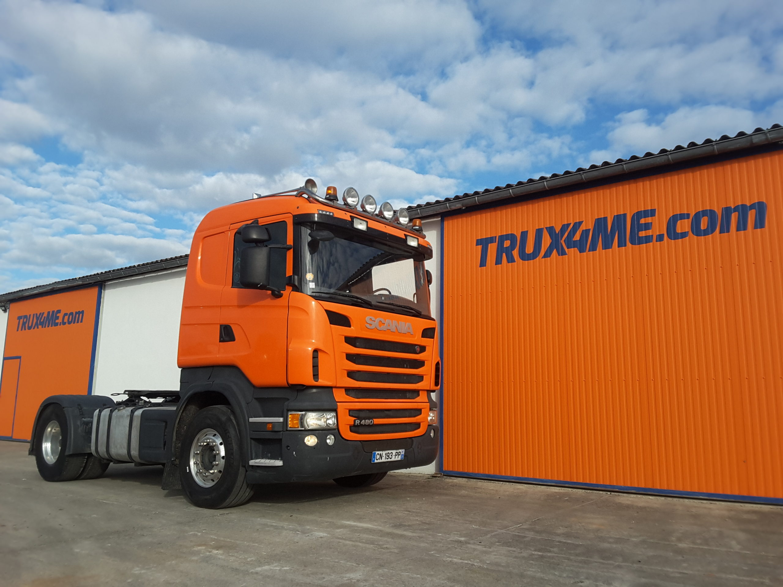 TRACTEUR SCANIA R480 OCCASION