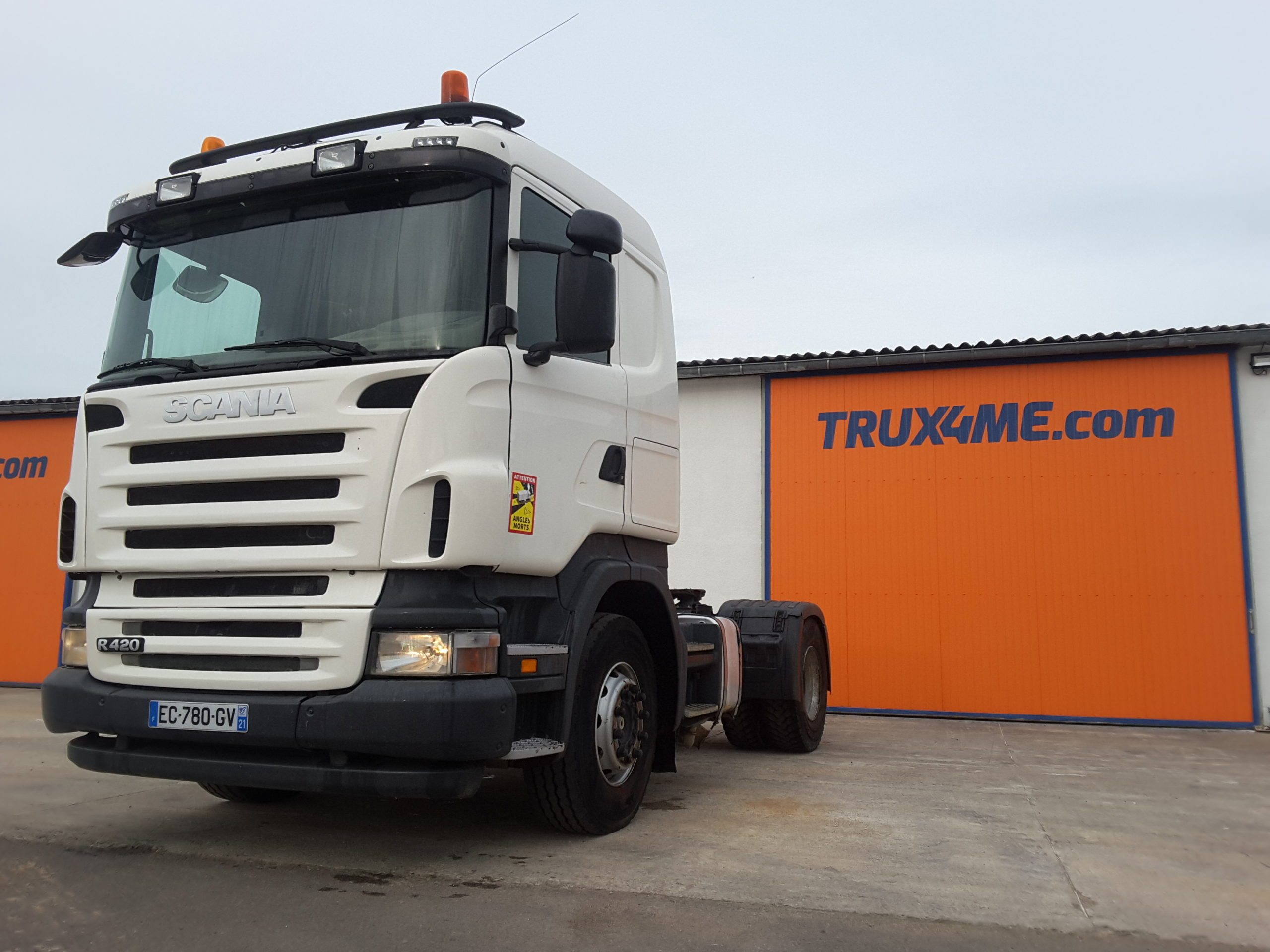 TRACTEUR SCANIA R420 SYSTEME HYDRAULIQUE OCCASION