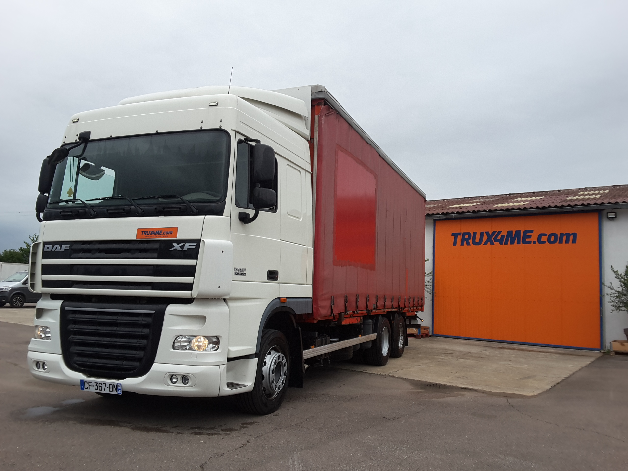 PORTEUR PORTE-CONTAINER DAF XF 105.460 OCCASION