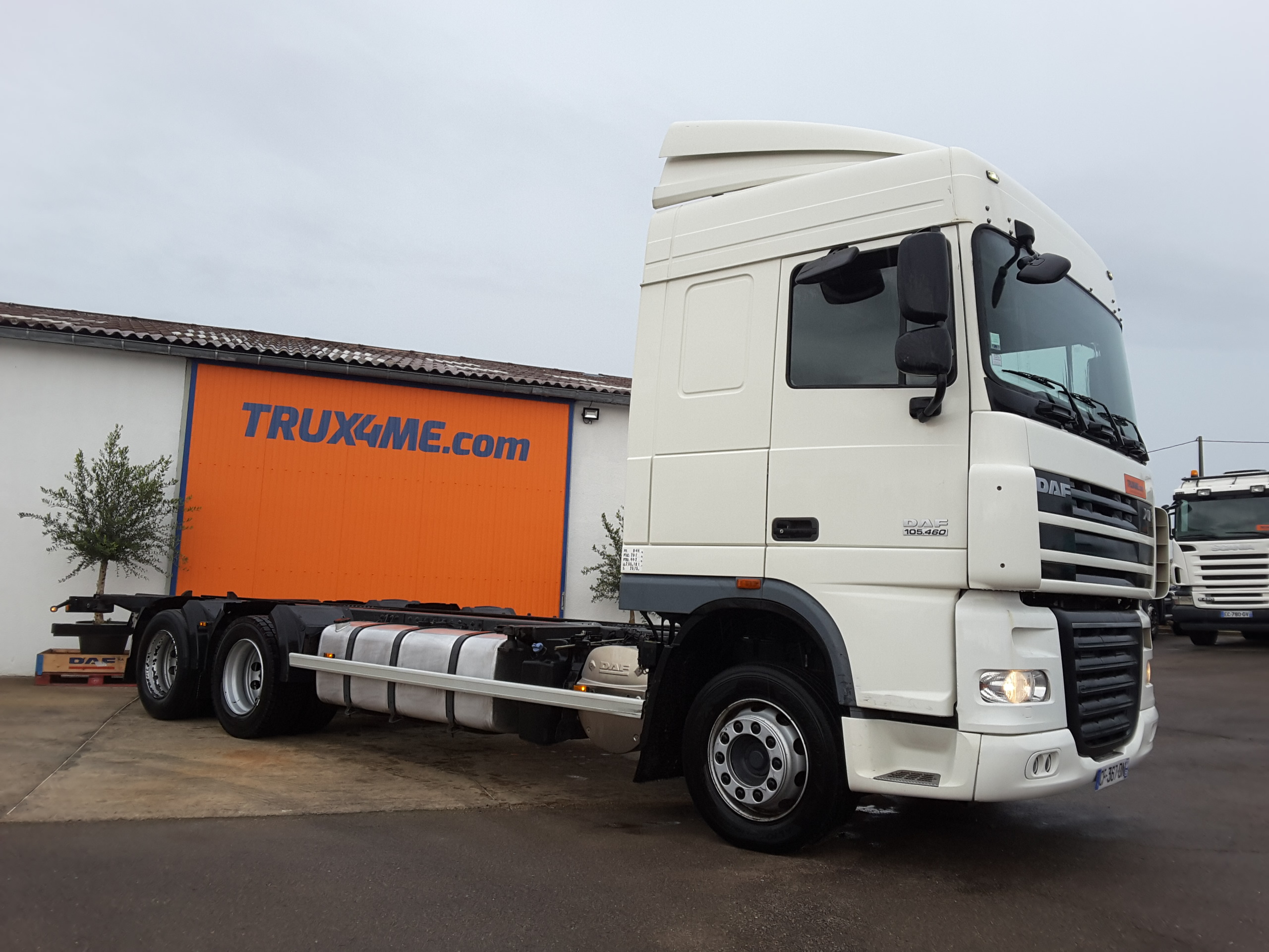 PORTEUR CHASSIS DAF XF 105.460 OCCASION