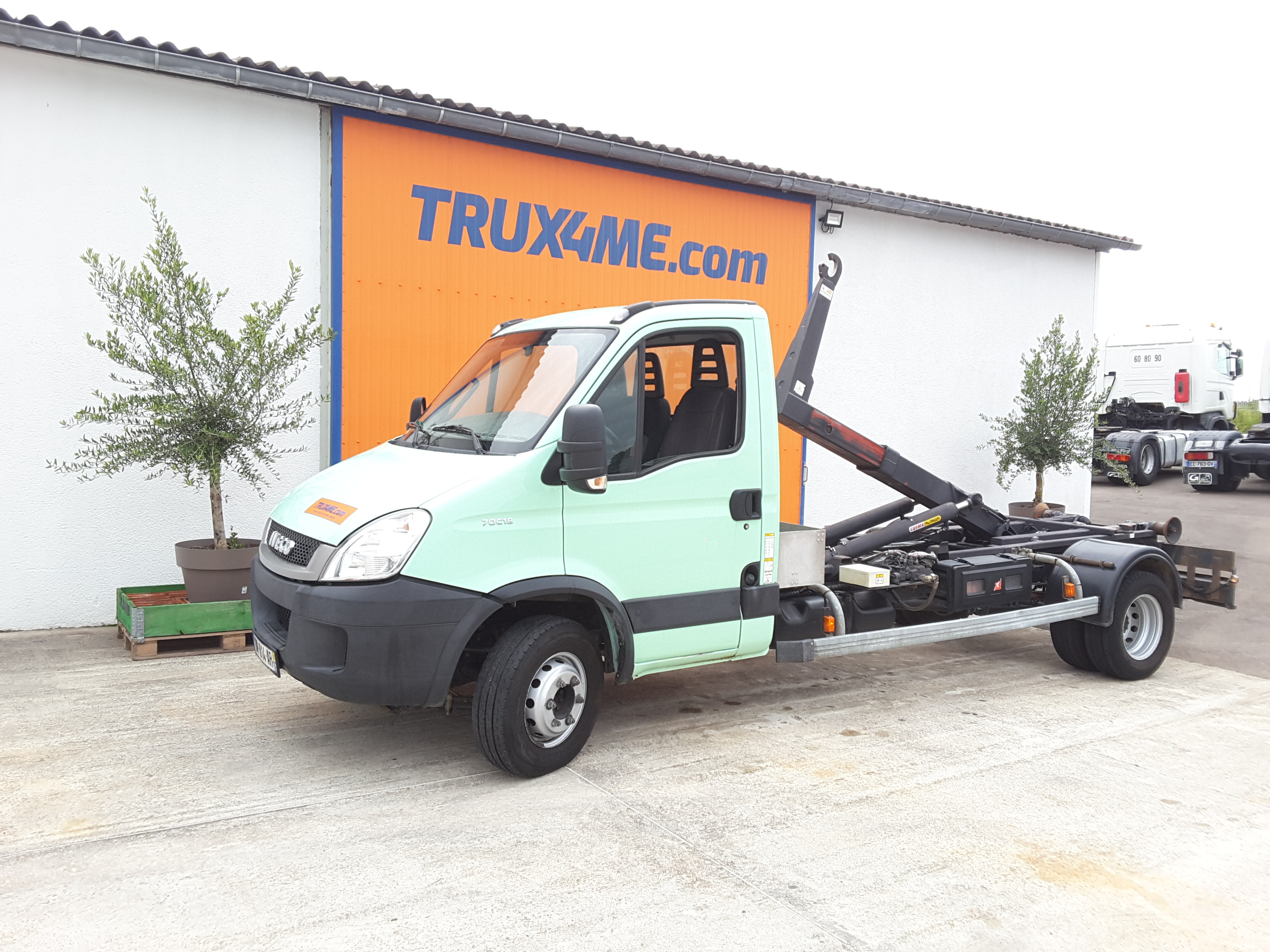 PORTEUR IVECO DAILY 70C18 POLYBENNE OCCASION