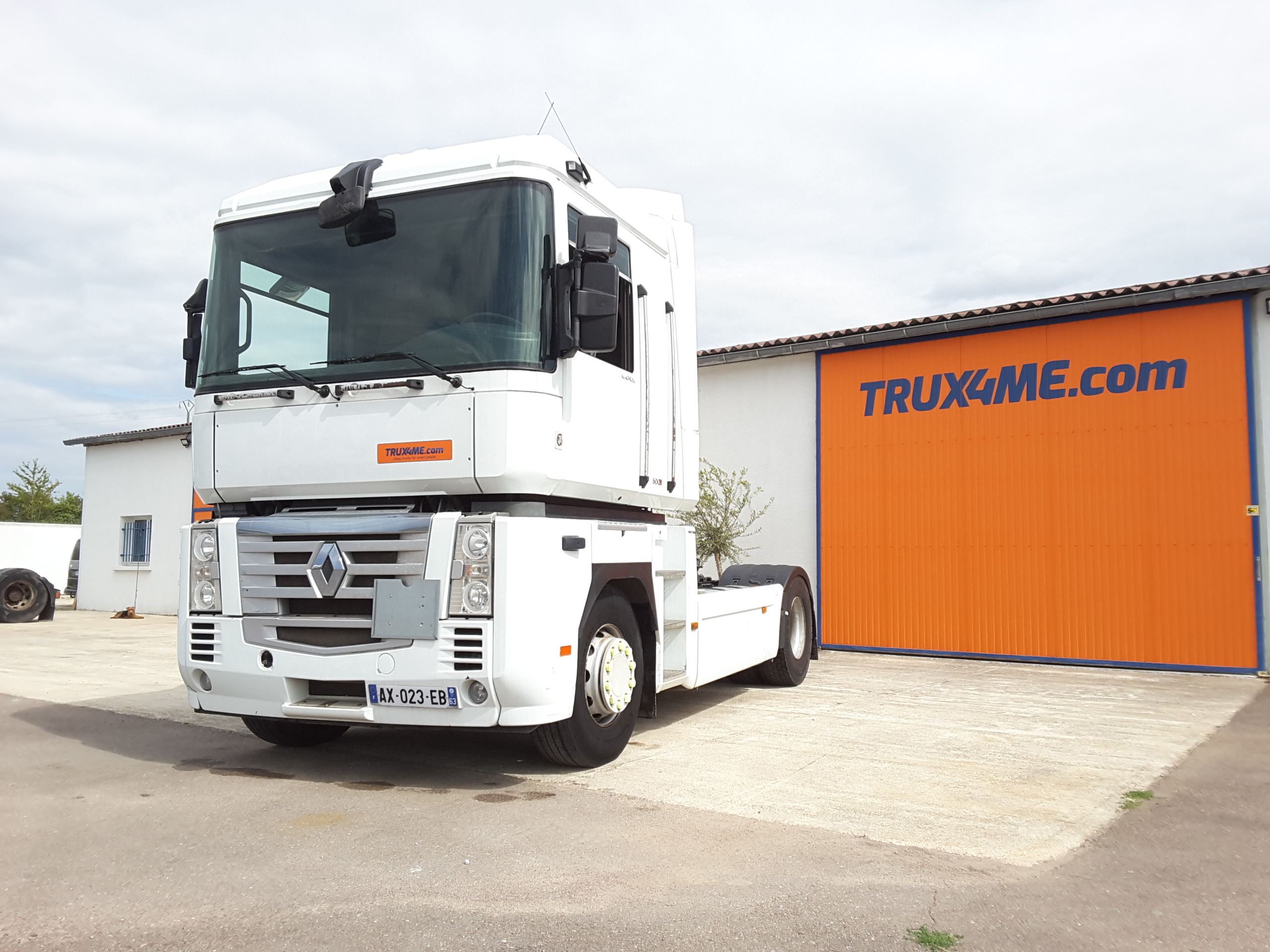 TRACTEUR RENAULT AE 500 DXI HYDRAULIQUE OCCASION